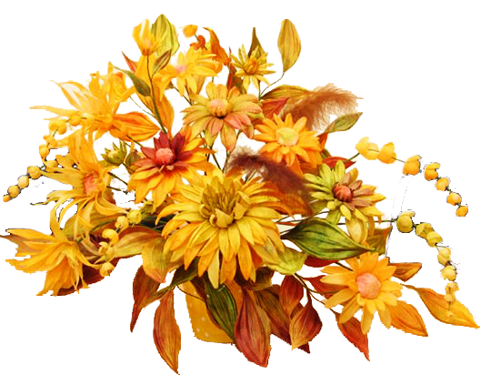 Clipart bouquet yellow wedding. Fall flower png