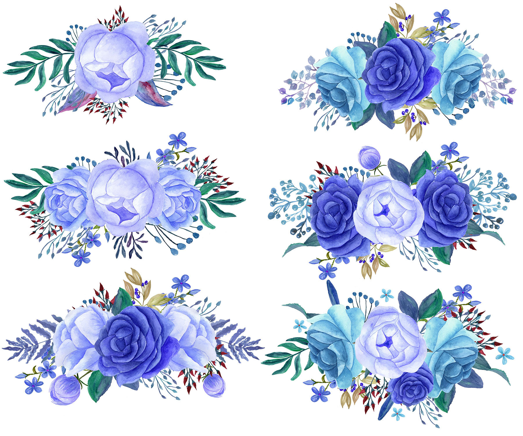 Bouquet clipart blue. Flower bunch a of