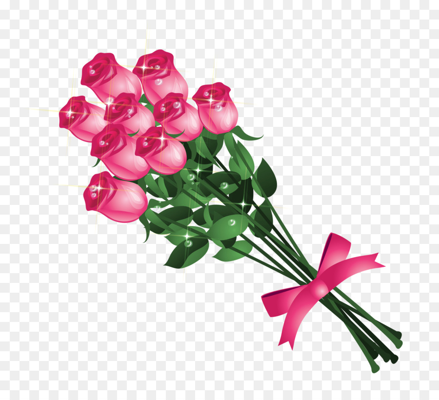 Flower clip art cliparts. Bouquet clipart bouquet rose
