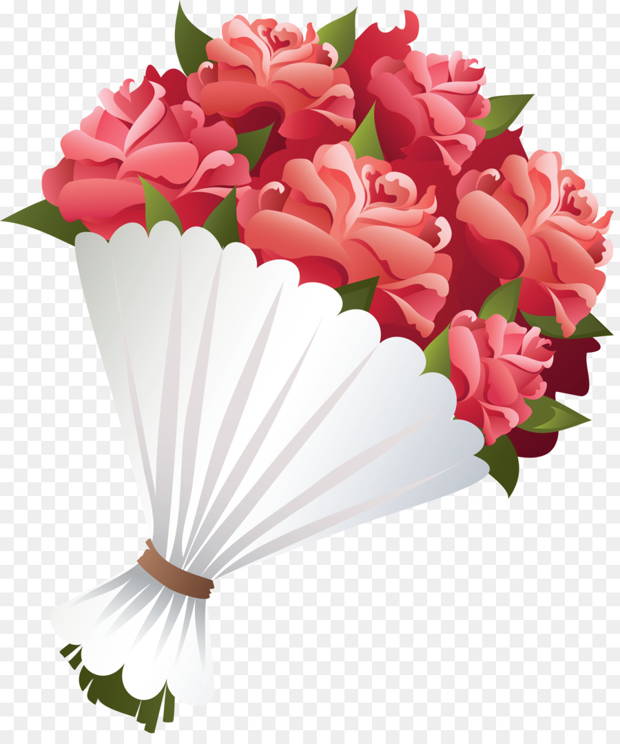 Flower clip art png. Bouquet clipart bouquet rose