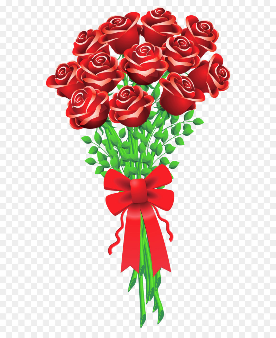 Valentine s day flower. Bouquet clipart bouquet rose