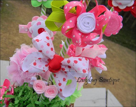 best hair bouquets. Bouquet clipart bow