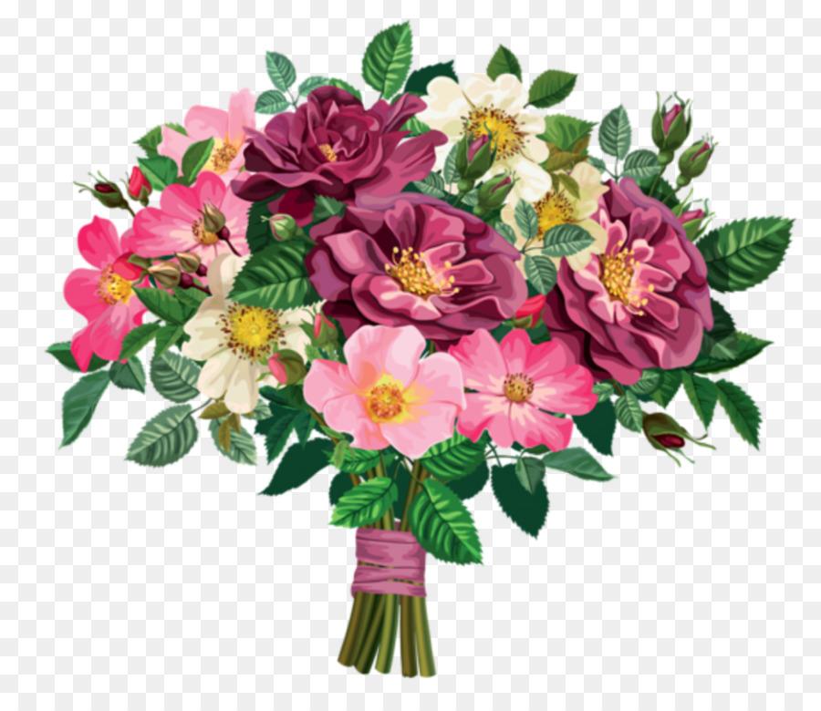 Wedding background . Bouquet clipart bride flower