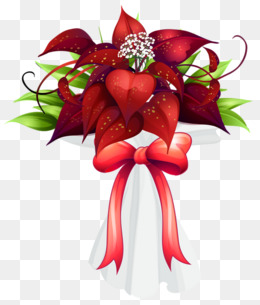 Bouquet clipart christmas. Png vectors psd and
