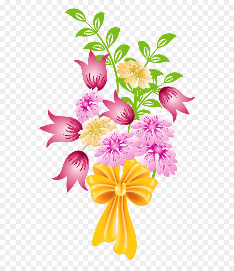 Bouquet clipart clip art. Flower spring png download