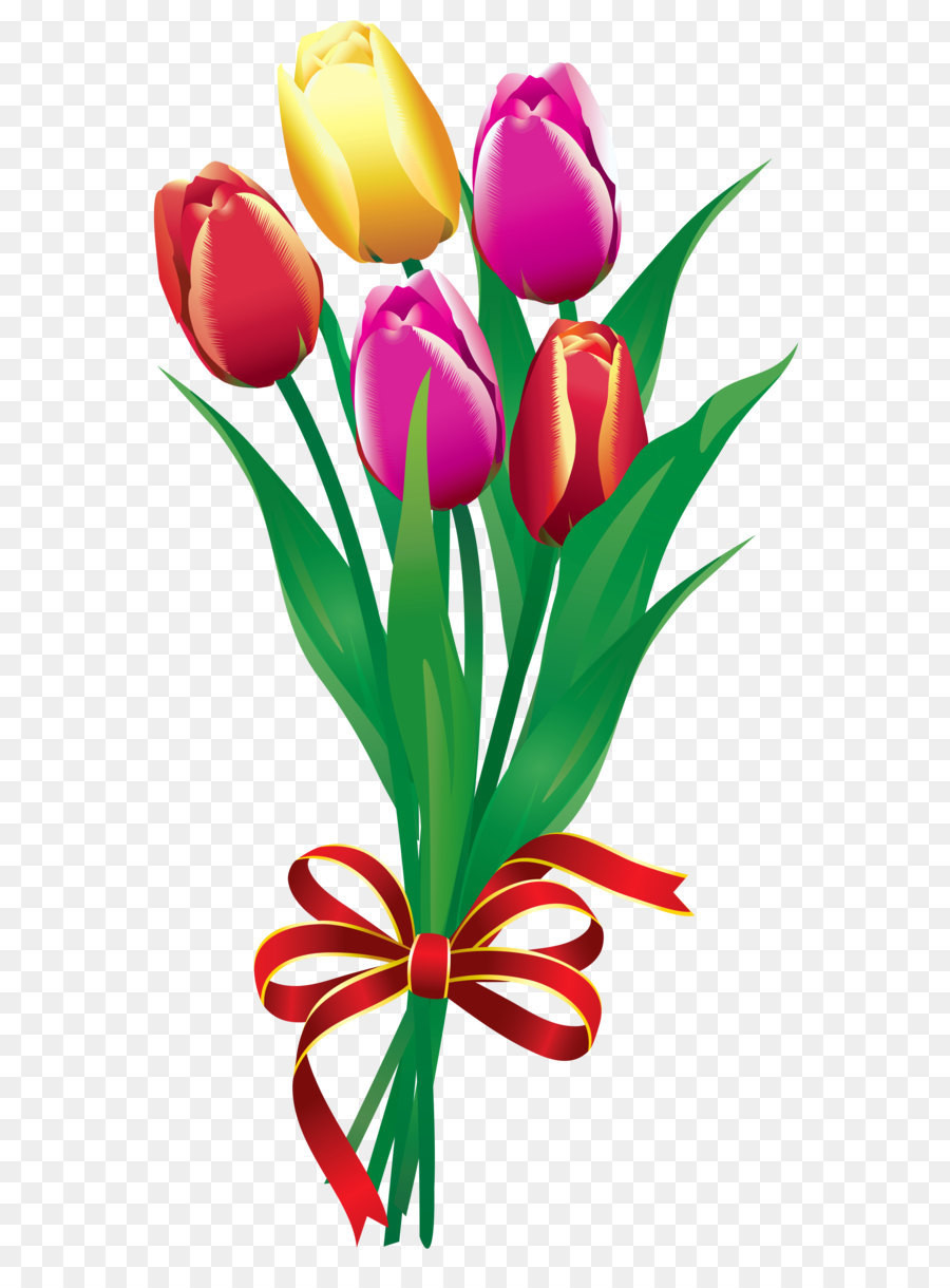 Bouquet clipart clip art. Flower tulip spring tulips