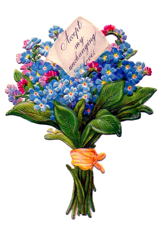 Bouquet clipart clip art. Library