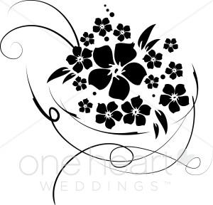 Bridal flower. Bouquet clipart clip art