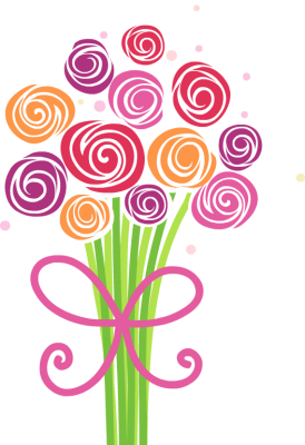Bunch Of Flowers Clipart