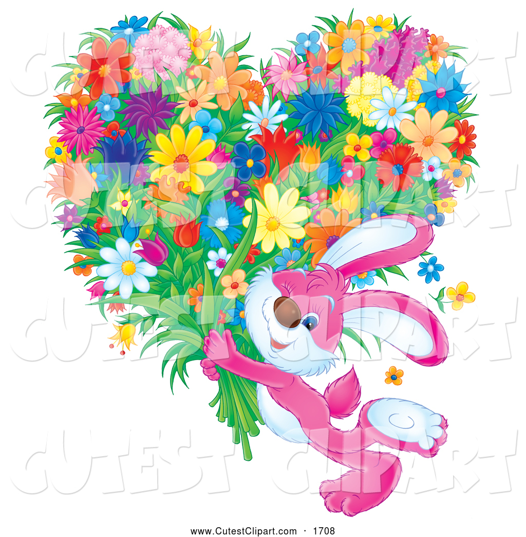 Royalty free stock designs. Bouquet clipart cute
