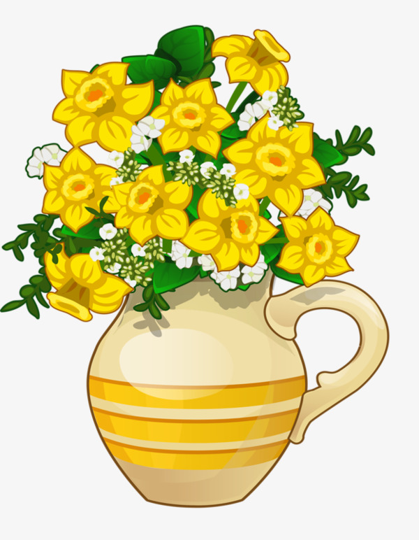 Bouquet clipart daffodils. Daffodil vase flowers png