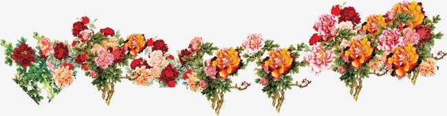 Wedding flowers bunch decorative. Bouquet clipart decoration