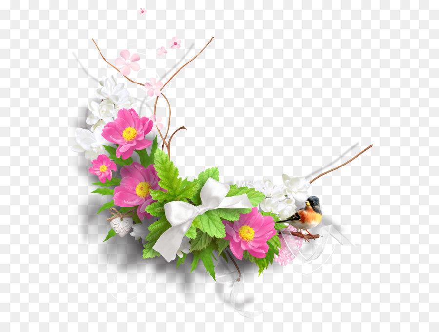 Flower clip art spring. Bouquet clipart decoration