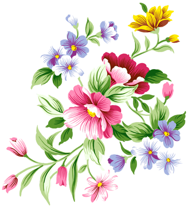 Bouquet clipart decoration. Flowers png gallery yopriceville