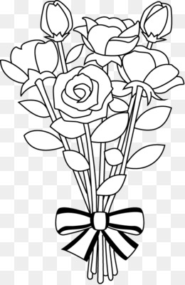 Bouquet clipart drawing. Free download flower clip