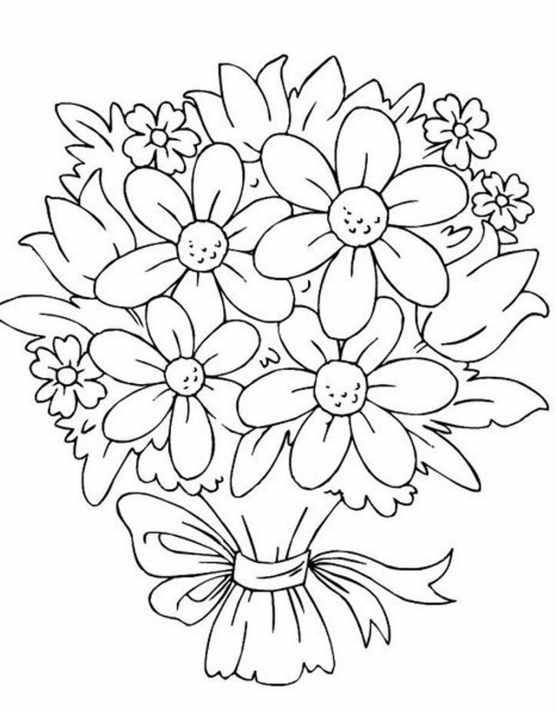 Flowers at getdrawings com. Bouquet clipart drawing