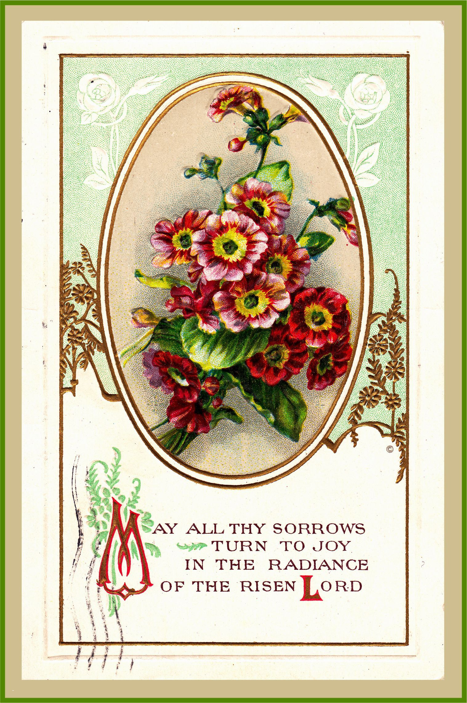 Bouquet clipart easter. Christian greeting cards luxury