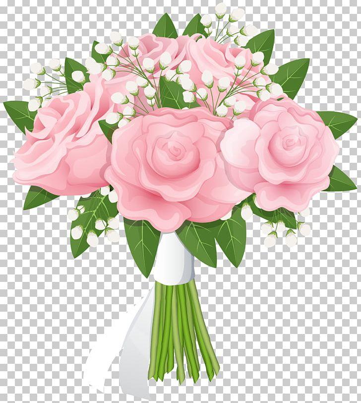 Flower rose pink png. Bouquet clipart floral