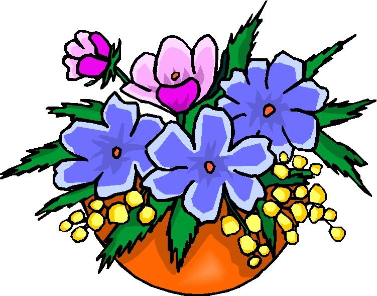 Arrangements luxury cartoon flowers. Bouquet clipart flower arrangement