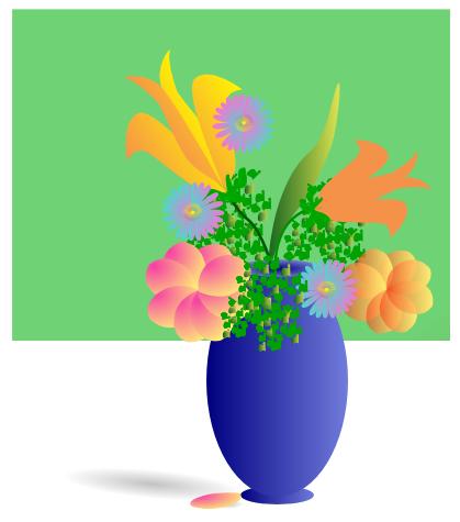 Bouquet clipart flower arrangement. Free baskets and bouquets