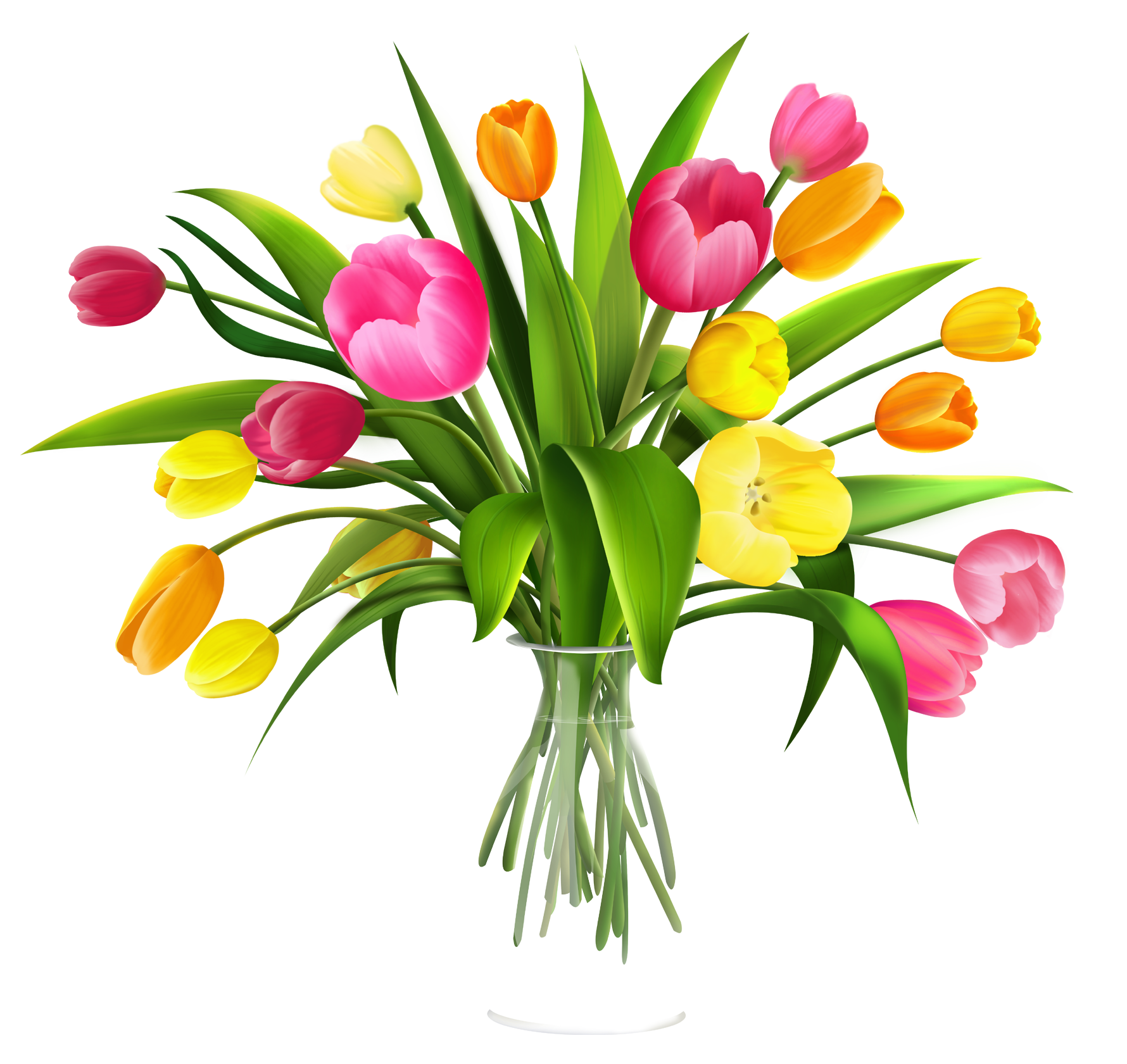 Gift clipart bunch. Free clip art flowers