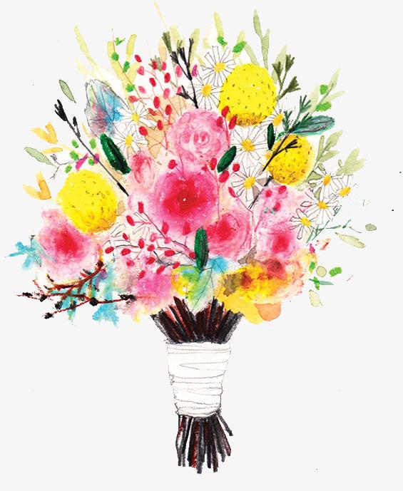 Bouquet clipart flower arrangement. Floral flowers png image