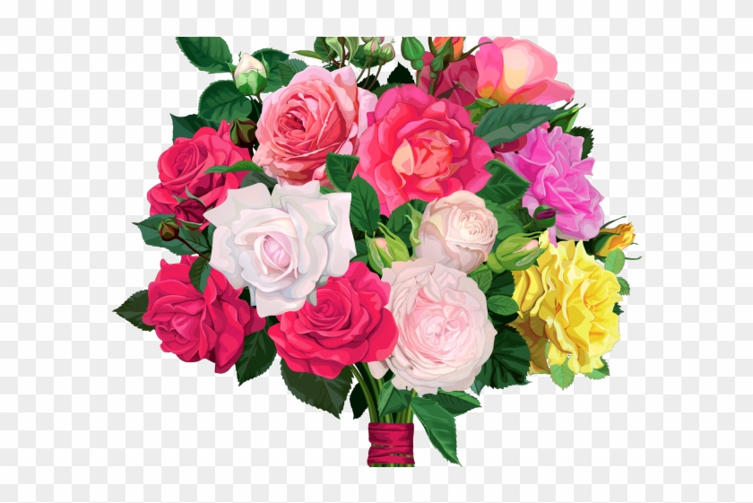 Bouquet clipart flower bokeh. Rose bunch flowers png