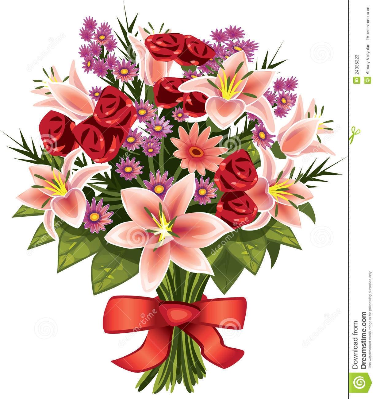 Bouquet clipart flower bunch. Arrangements elegant flowers drawing