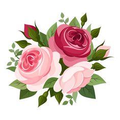 Watercolour clip art hand. Bouquet clipart flower bunch