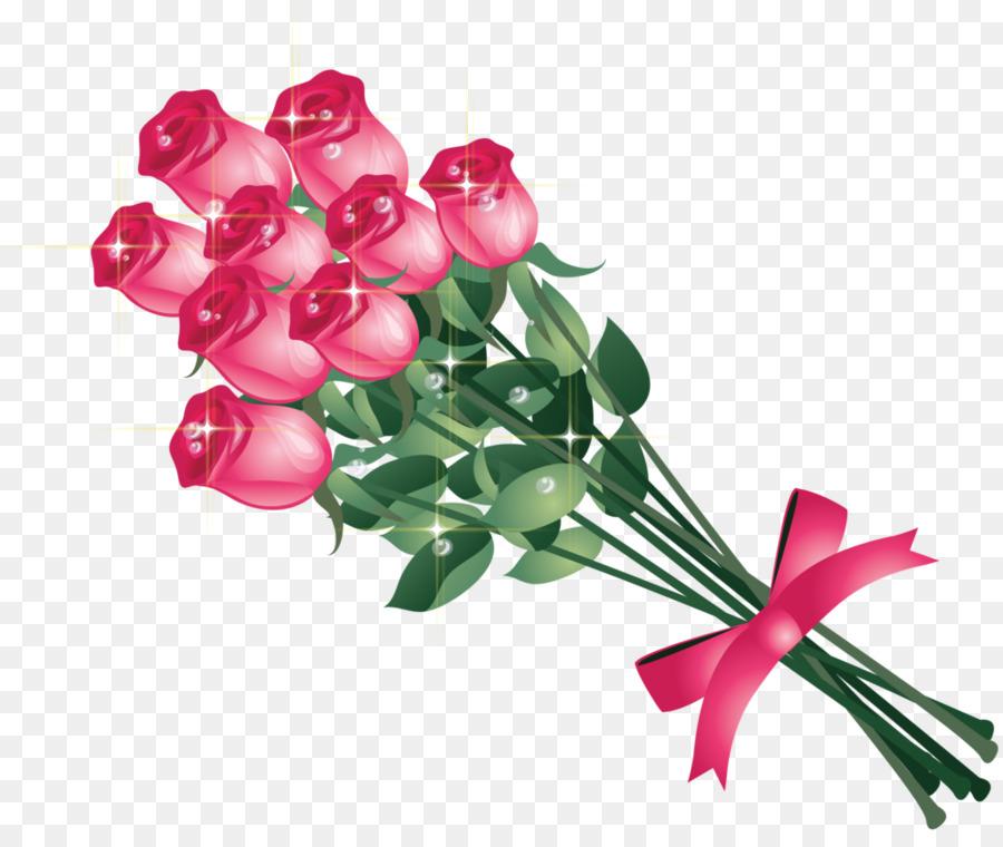 Bouquet clipart flower bunch. Rose desktop wallpaper clip