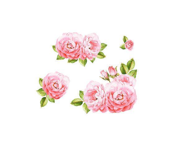 Pin on watercolor clip. Bouquet clipart flower bundle