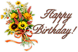 Bouquet clipart happy birthday. Atletischsport