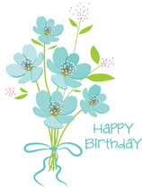 Free clip art pictures. Bouquet clipart happy birthday
