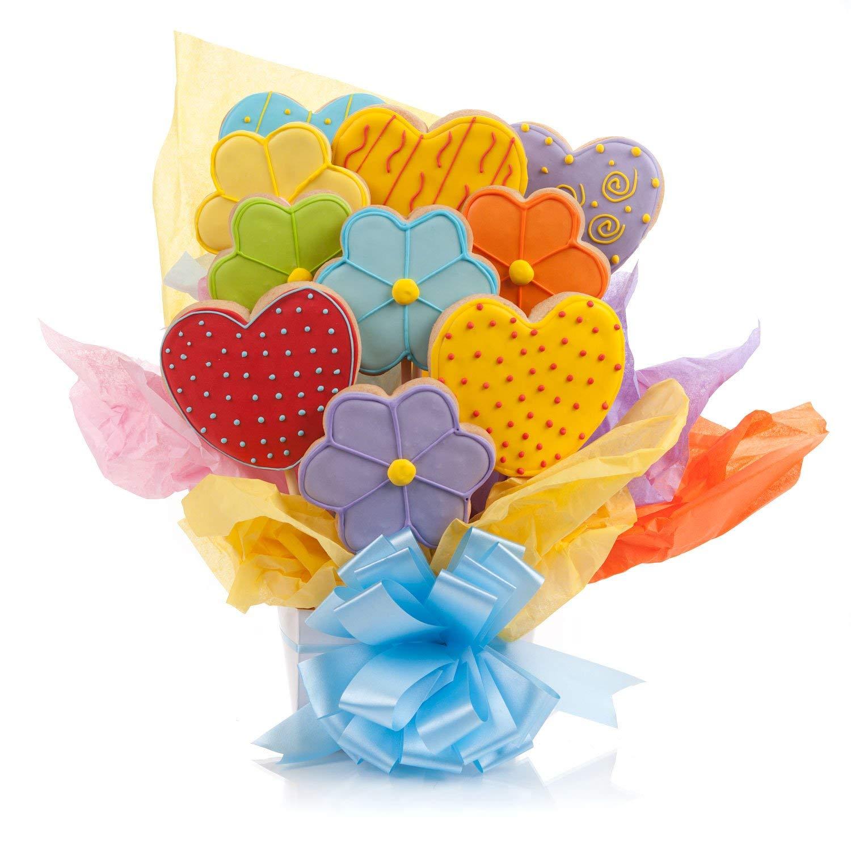 Amazon com daisies cookie. Bouquet clipart hearts