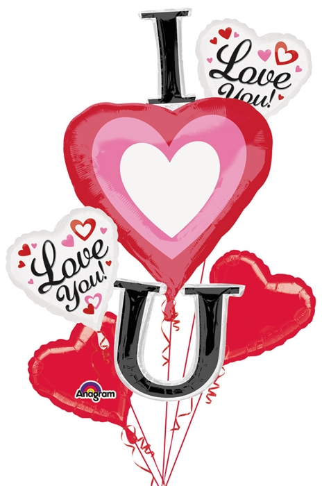 Bouquet clipart hearts. Vertical i heart you