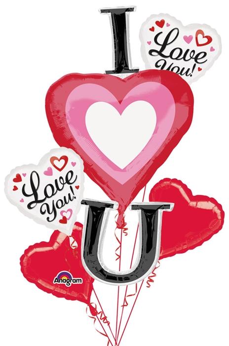 Bouquet clipart hearts. Vertical i heart you