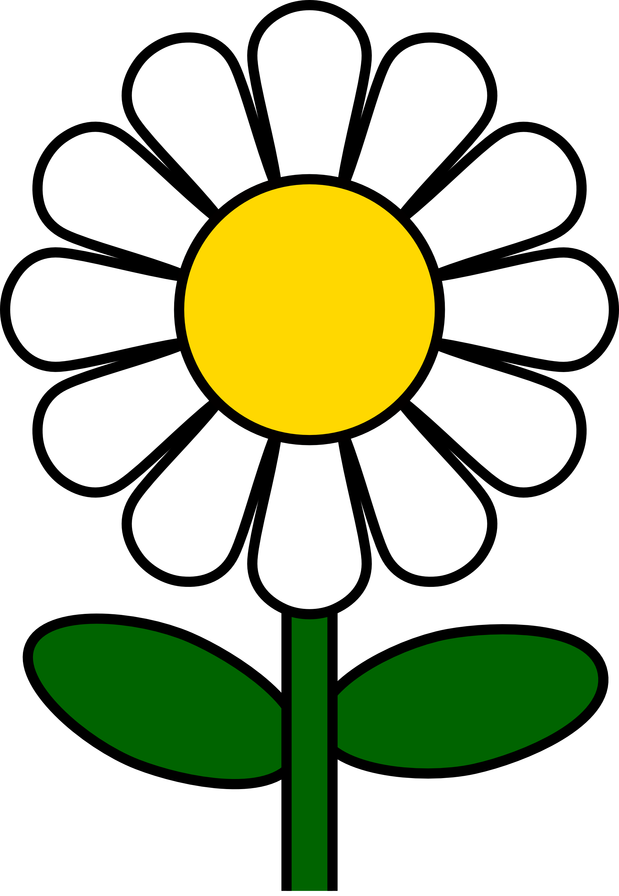 Daisy clip art marguerite. Daisies clipart flower day