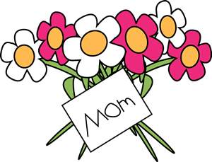 Free clip art to. Bouquet clipart mothers day