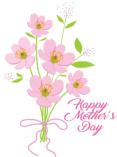 Bouquet clipart mothers day. Hand flowers happy handbouquetflowershappymothersdayclipartjpg