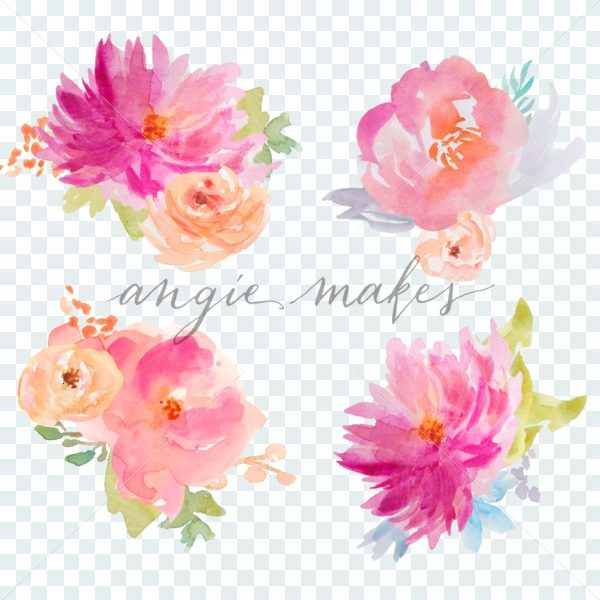 Bouquet clipart pretty flower. Cute clip art angie