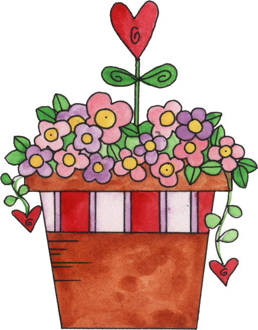 Bouquet clipart pretty flower. Valentine