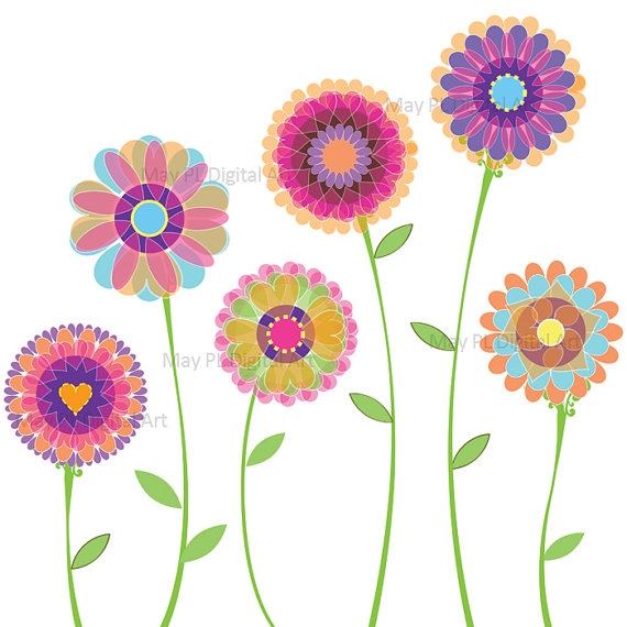 Flower day cliparts flowers. Bouquet clipart spring