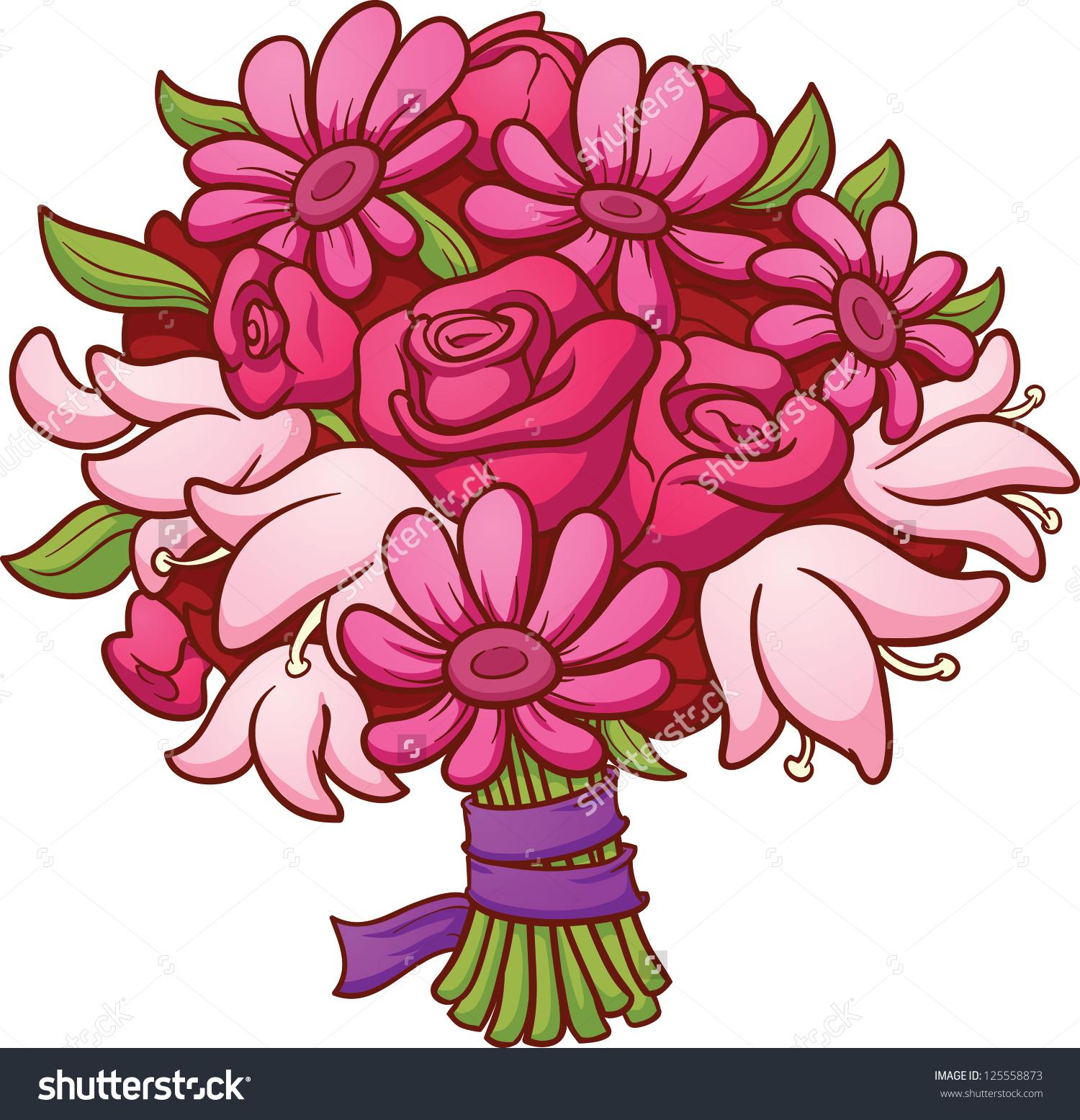 Clip art ideas medium. Bouquet clipart spring flower bouquet