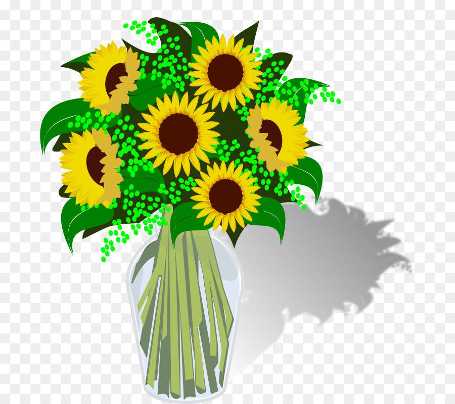 Bouquet clipart sunflower bouquet. Flower computer icons clip