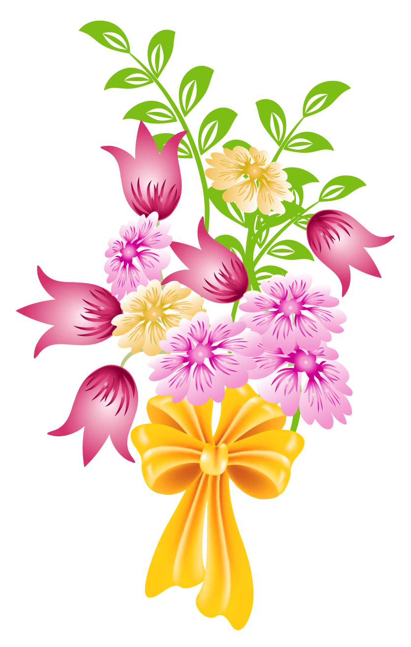 Bouquet clipart transparent background. Image d a be