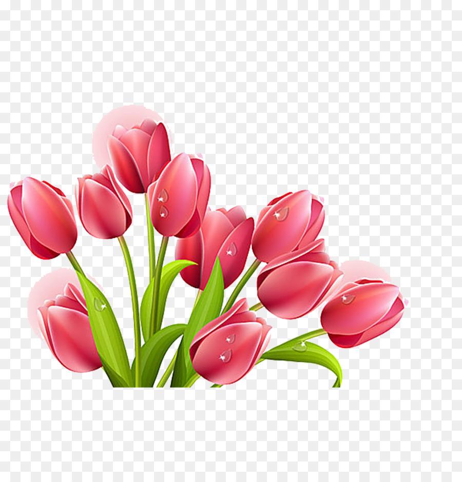 Bouquet clipart tulip. Flower clip art png