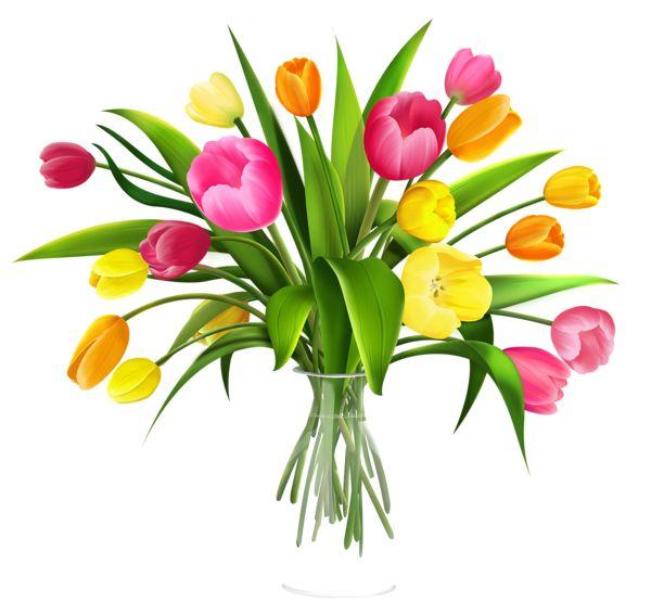 Bouquet clipart tulip.  best flower cliparts