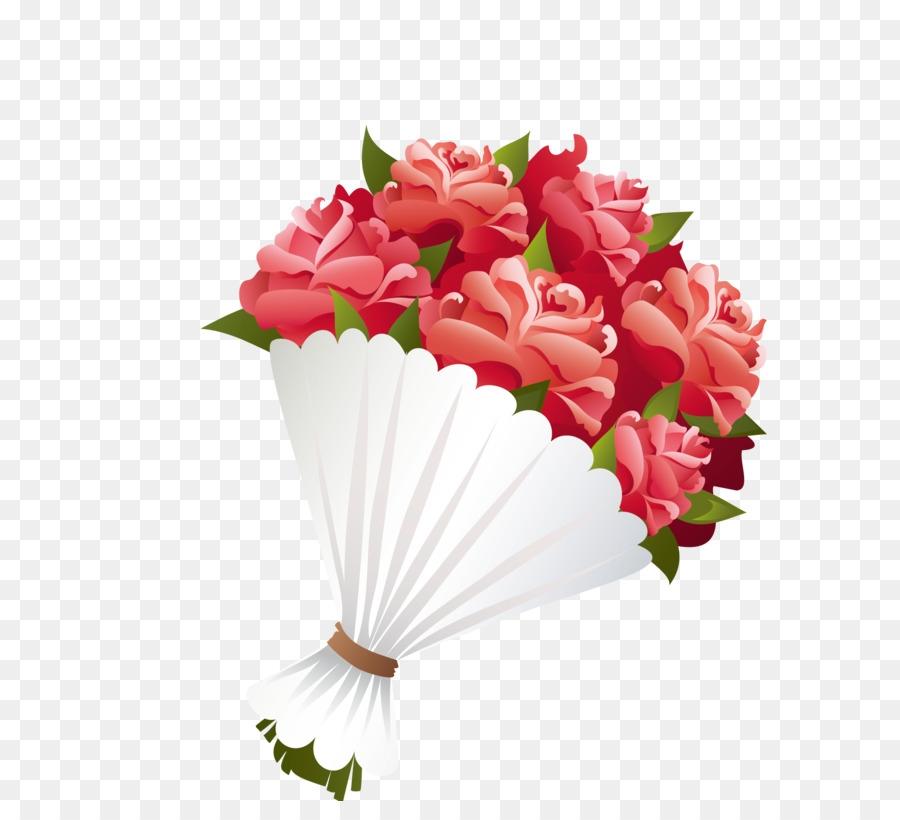 Flower png clip art. Bouquet clipart valentine