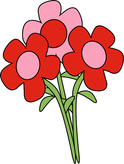 Free valentine bouquet cliparts. Clipart roses valentines