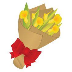 Pin by jana pechrov. Bouquet clipart valentine